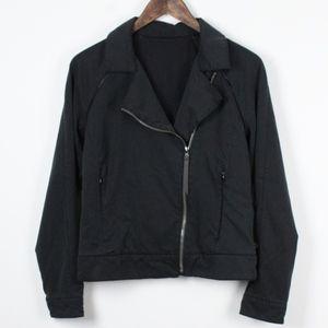 Lululemon Black Moto Zip Jacket